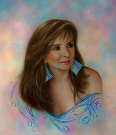 """""""MARTHA"""" 60 x 80 cms ,acrylic on canvas."""